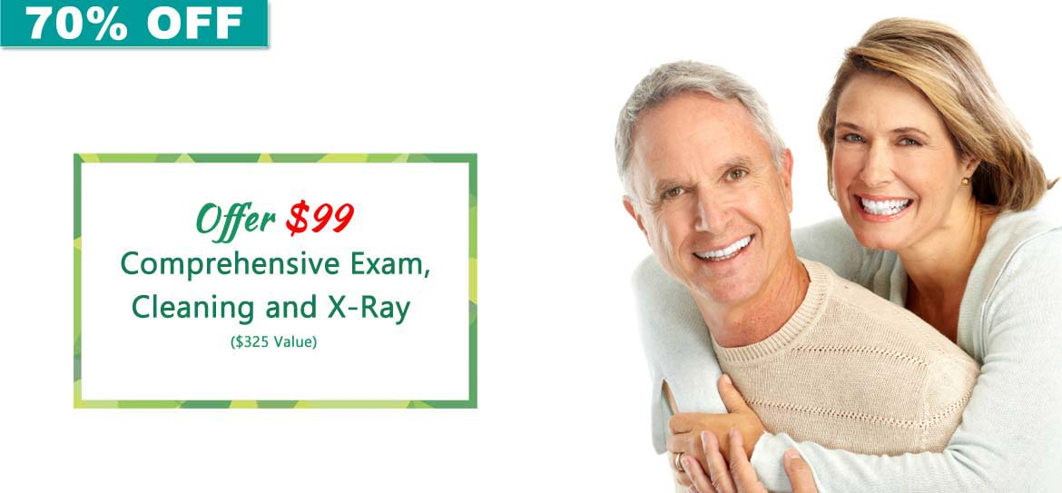 Comprehensive Exam, Cleaning and X-Ray